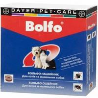Больфо ошейник против блох и клещей для кошек и собак bayer 35 см