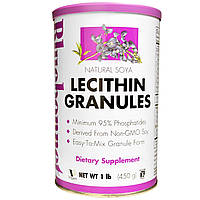 Лецитин (Lecithin) в гранулах Bluebonnet Nutrition 450 гр