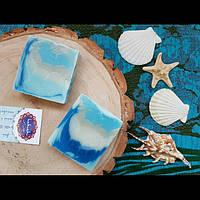 """1 шт Натуральное мыло, МЫЛО-ШАМПУНЬ  """"морские волны"""" С глиной и ментолом охлаждающее ТМ """" hamam"""" В КОРОБКЕ, фото 1"""