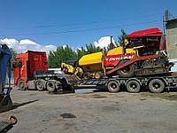 Перевозка строительной техники в Украине