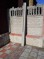 Столбы для заборов железобетонных декоративных