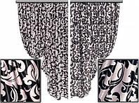 Ткань для штор блэкаут Винтаж № 12 (двухсторонняя), фото 1
