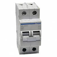 Автоматический выключатель Hager MC250A. Iн=50А, 2п, хар-ка С