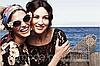 Очки с цветами в стиле Dolce&Gabbana grafit, фото 7