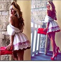 Платье с купоном