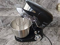 Кухонный тестомес миксер планетарный Royalty Line BLACK 1600 Вт