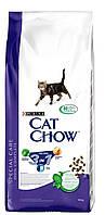 "Cat Chow (Кэт Чоу) Сухой корм для кошек  3 в 1 ""Cat Chow Special Care Feline на развес 1 кг"