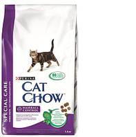 Cat Chow (Кэт Чау) Special Care Hairball Сухой корм для кошек профилактика образования волосяных комочков / на развес 1 кг