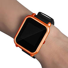 Накладка бампер для часов Xiaomi Amazfit Bip Оранжевая (1010507), фото 2
