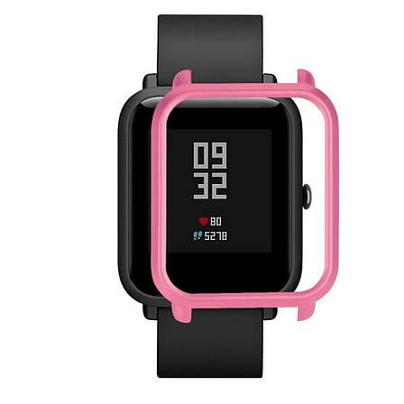 Накладка бампер для часов Xiaomi Amazfit Bip Фиолетовая (1010510), фото 2