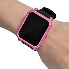 Накладка бампер для часов Xiaomi Amazfit Bip Фиолетовая (1010510), фото 3