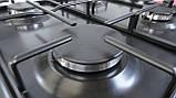 Газовая варочная поверхность, Sistema Rustico HR15-K44 600 мм. эмаль / антрацит, фото 5