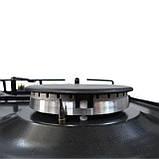 Газовая варочная поверхность, Sistema Rustico HR15-K44 600 мм. эмаль / антрацит, фото 6