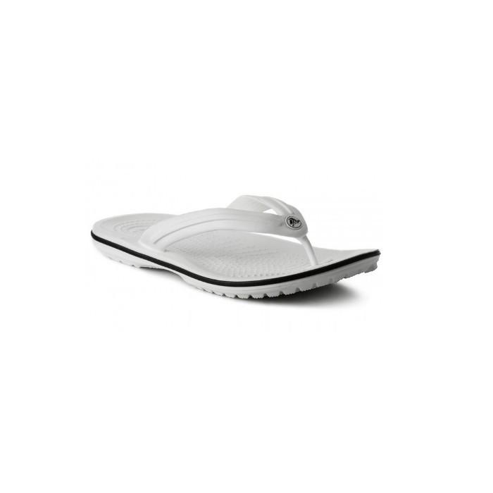 Вьетнамки мужские Crocs Crocband Flip Flop белые 42 разм.