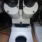 20х б/у Стерео Микроскоп металлический для пайки ремонта моб телефонов 20x бинокулярный Мікроскоп, фото 2
