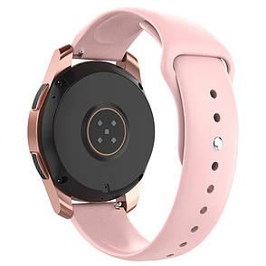 Ремешок BeWatch силиконовый для Samsung Galaxy Watch 42 мм Розовый (1010311.2), фото 2