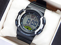 Водонепроникні спортивні наручний годинник Mingrui - чорні з сріблястим