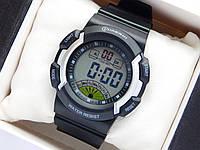 Водонепроницаемые спортивные наручные часы Mingrui - черные с серебристым
