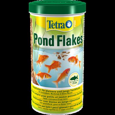 Tetra Pond Flakes 1 л смесь хлопьев для мелких рыб