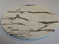 Столешница круглая 60 см стилизация мрамор WERZALIT Турция , жаропрочная, устойчивая к повреждениям HoReCa
