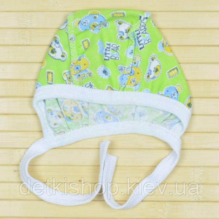 Чепчик для новорожденного (модель 03)