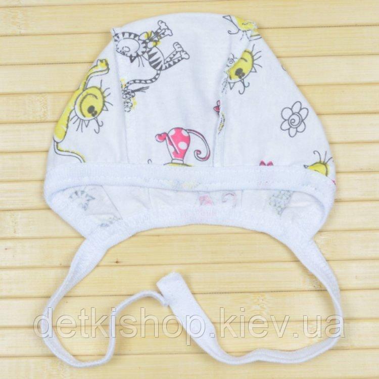 Чепчик для новонародженого (модель 08)