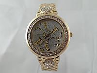Стильные женские часы Gucci - цвет золото, белый циферблат, фото 1