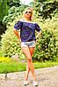 Летняя блуза с открытыми плечами, Материал: креп-шифон