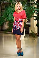 Летнее платье с принтом, микромасло, фото 1