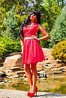 Модный покрой и завышенная талия этого платья выгодно подчеркнут любую фигуру, бенгалин, фото 1