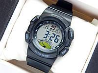 Водонепроницаемые спортивные наручные часы Mingrui - черные