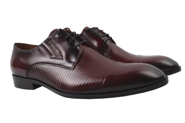 Туфли Conhpol натуральная кожа, цвет бордо