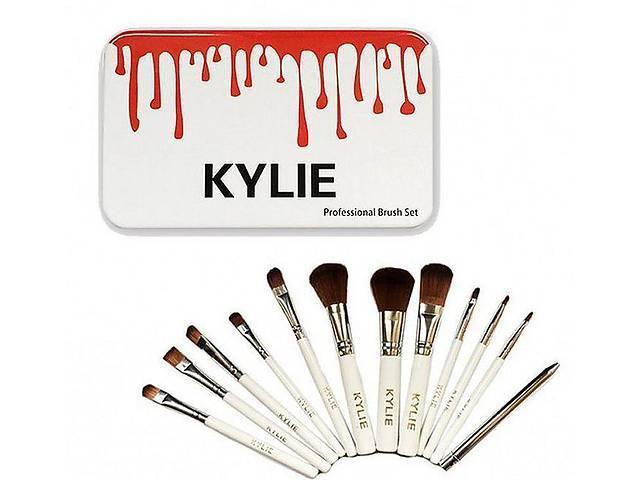 Набор кистей для макияжа Kylie, Кайли, в контейнере, 12 шт