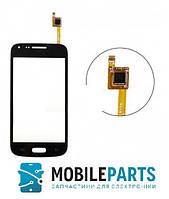 Сенсор (Тачскрин) для Samsung G350 | G3500 | G3502 | G3508 С фронтальной камерой (Черный) Оригинал