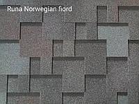 Битумная черепица RUFLEX RUNA  Норвежский фьорд,  Norwegian fiord