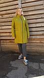 Женское стеганое демисезонное пальто ОПТ, размеры 50-60, фото 7