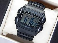 Водонепроницаемые спортивные наручные часы прямоугольной формы Lasika W-F81 - черные, фото 1
