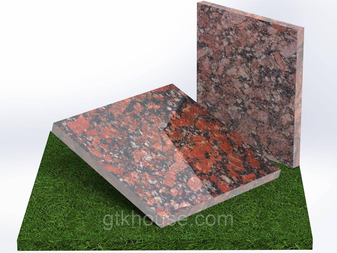 Плитка гранитная Капустинская (Размер 300×300)
