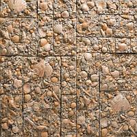 Декоративная гипсовая плитка Морское дно. Искуственный камень