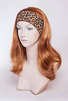 Искусственный парик на ленте №2,цвет рыжий золотистый