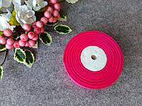 Репс однотонный на метраж. Цвет малиновый.  Ширина 2.5 см