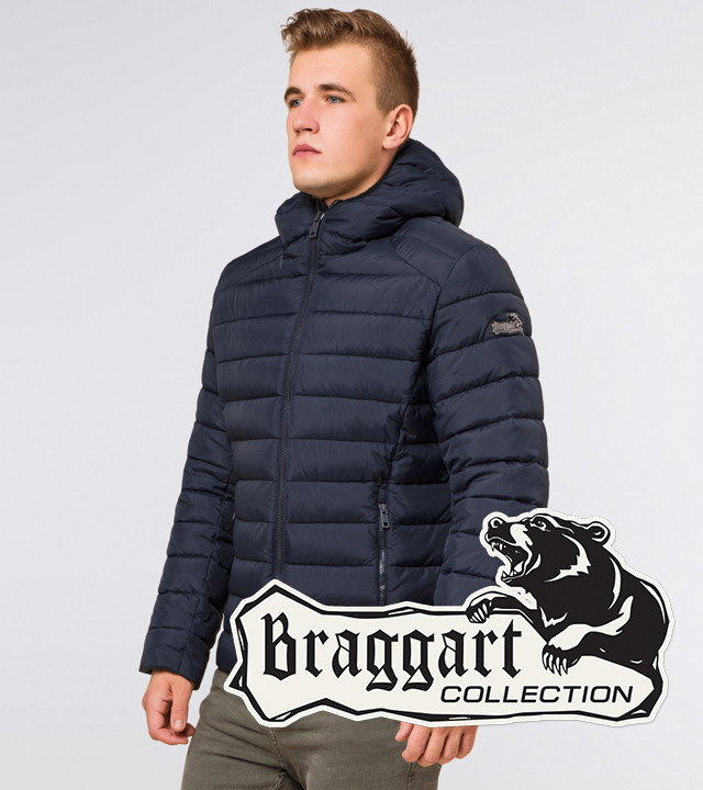 Braggart Aggressive 40962   Куртка мужская зимняя сине-черная