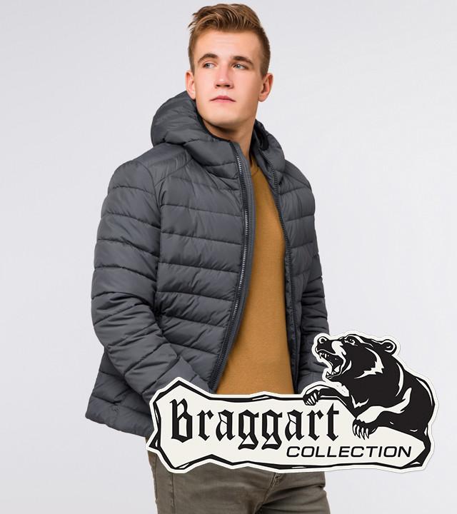 Braggart Aggressive 40962   Мужская зимняя куртка графит