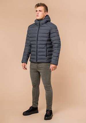 Braggart Aggressive 40962   Мужская зимняя куртка графит, фото 2