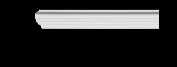 Молдинг для стен, гладкий, Classic Home 4-0201 flex, лепной декор из полиуретана