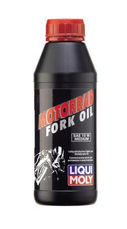 Вилочное синтетическое масло LIQUI MOLY Fork Oil RACING Synthetic 10W 0.5л ( в мотоцикл , скутер , велосипед )