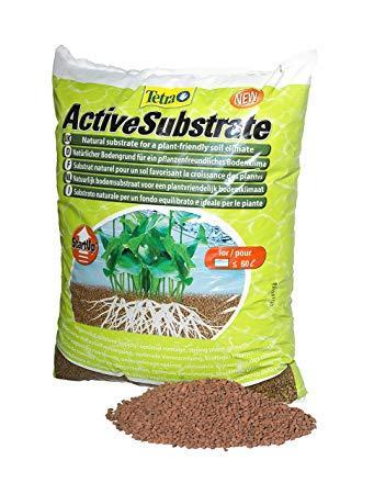Tetra Active Substrate (3-6 л) живой натуральный грунт Тетра для интенсивного роста растений 6 л