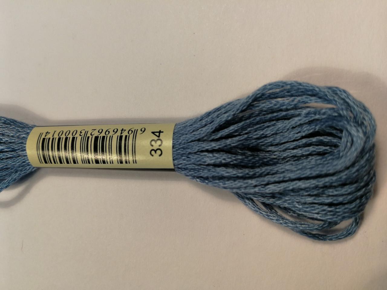 Мулине СХС 334 нежно голуб средн
