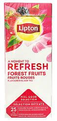 Фруктовый чай пакетированный Lipton Forest Fruits (Лесные ягоды) 25 шт