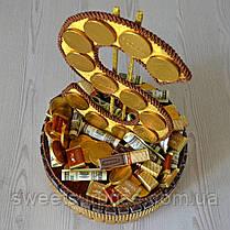 """Подарок из конфет и шоколада """"Доллар"""", фото 3"""
